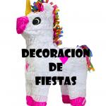 Decoración fiestas de unicornio
